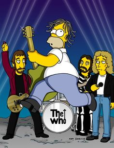 """The Simpsons Rock! The Best Rock & Roll Moments From """"The Simpsons"""" The Simpsons, Simpsons Episodes, Metallica, Chihiro Cosplay, Los Simsons, Homer And Marge, Best 90s Cartoons, Tracey Ullman, Music Photo"""