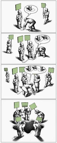 As ilustrações geniais de Mana Neyestani | Designine