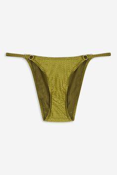 fbda1a93e High Leg Tanga Bikini Bottoms by TWIIN