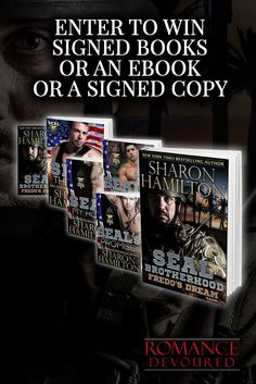 Win Signed Copies, Swag Pack or eBooks from NY Times, USA Today, Bestselling Author Sharon Hamilton