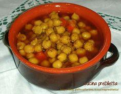 Zuppa di ceci, ricetta invernale