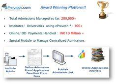 Online Admission Platform ePravesh.com