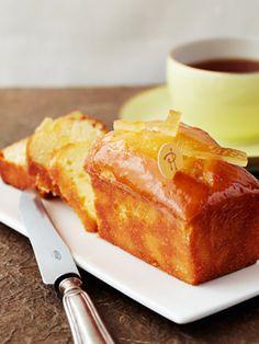 ベーシックなケークをさわやかなレモン風味に|『ELLE a table』はおしゃれで簡単なレシピが満載!