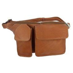 Adventurer Waist Bag with Phone Pocket Color: Saddle