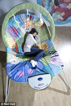 Adult baby bouncer..this would be insanely comfortable haha
