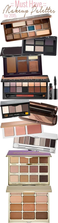 Top 10 Must Have Makeup Palettes for 2015