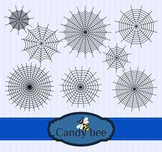 Halloween Silhouettes, Halloween Vector, Halloween Spider, Vector File, Vector Graphics, Silhouette Clip Art, Vector Design, Scary, Etsy Shop