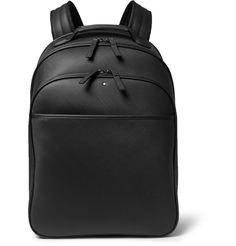 <a href='http://www.mrporter.com/mens/Designers/Montblanc'>Montblanc</a>'s 'Extreme' collection uses innovative, hard-working materials to create high-performance items. This backpack has a woven-look leather construction, a neoprene lining and robust aluminium fittings, giving it extra resilience to wear and tear. Fill it up on busy days when you need to go hands-free.