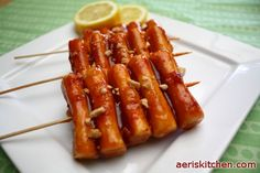 Spicy Sticky Rice Cake GgoChi | Aeri's Kitchen | Cooking Korean Recipes & Food