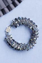 Free Crystal Bracelet Pattern: Crystal Edge Bracelet By Cecilia Guastaferro