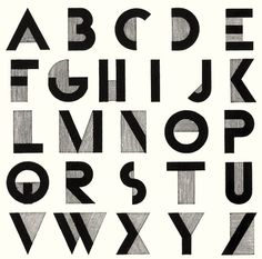 Bifur was released in 1929 by Deberny & Peignot of Paris as a single font and a two-part, two-color font. Apparently it wasn't a commercial success but it did create quite a stir in the typographic world. It also inspired other artists to create their own typefaces.