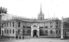 La fábrica de tabacos de Valencia. Inaugurado como  Pabellón de la Industria en 1909.