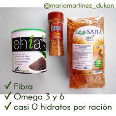 Semillas de Lino, Chía y Sésamo (ajonjolí) Lista de la Compra Dukan: mis compras del mes