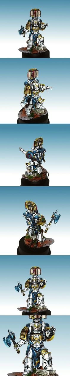 World Eaters Librarian.