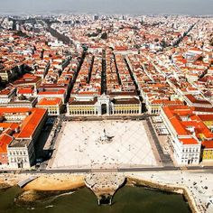 Lisbon from above. by Lisbon Helicopters - Alma Portuguesa Porto Portugal, Visit Portugal, Spain And Portugal, Portugal Travel, Most Beautiful Cities, Beautiful Places To Visit, Fly Travel, Travel Tips, Portuguese Culture