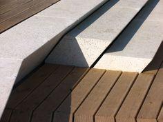Santa Cole - Amphitheatre Expo Zaragoza 2008 (Project of unique spaces) Modern Patio, Modern Landscaping, Outdoor Landscaping, Landscape Stairs, Urban Landscape, Landscape Design, Stairs Architecture, Architecture Details, Landscape Architecture