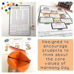 Harmony Day Activities - Years 3 - 4 Cultural... by Rainbow Sky Creations | Teachers Pay Teachers