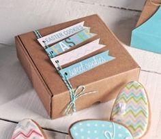 Cajas para Envíos, Envía tus Paquetes al Mejor Precio - Kleines Dankeschön Geschenk Party Box, Party Packs, Paper Cards, Diy Cards, Gift Wraping, Biscuits, Explosion Box, Birthday Diy, Diy Gifts
