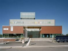 Iiris, Office Building and Service Centre for the Visually Impaired, Helsinki, Finland - LAHDELMA & MAHLAMÄKI ARCHITECTS