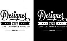 Tuto Illustrator gratuits - Illustrations vectorielles, logo, dessin Logo Professionnel, Brand Board, Logos, Web Design, Calligraphy, Digital, Inspiration, Adobe, Designer