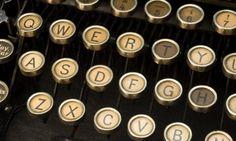 retro typewriter_shutterstock_12626605