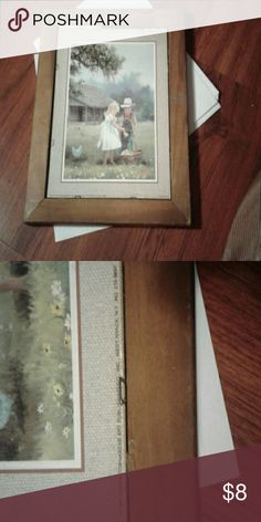 PICTURE-  Scafa-TornabeneArt Scafa-Tornabene Art, 1987, Litho-USA. Comes with Wooden Frame, just no Glass, in Good Condition ?? Other