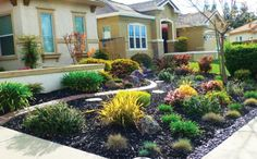 Stylish Front Yard Landscaping Ideas Without Grass Landscape Ideas For Front Yards Without Grass Modern House