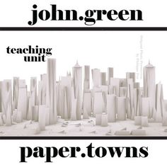 Paper towns john green setting