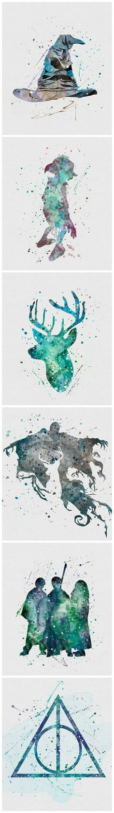 Harry Potter Watercolors                                                                                                                                                                                 More