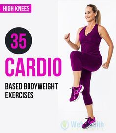 Top 35 #Cardio based body-weight exercises.