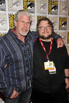 Ron Perlman Photos - Actor Ron Perlman and director Guillermo del Toro attend Film District Photo Op Panel Press Line at The Hilton San Diego Bayfront Hotel on July 2011 in San Diego, California. Vincent And Catherine, Ron Perlman, Beauty And The Beast, Films, Fandom, Actors, Comics, Studio, My Love