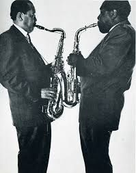 Lester Young and Charlie Parker - by Irving Penn