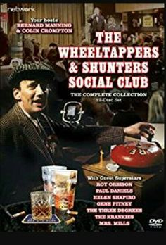 Wheeltappers and Shunters Social Club: The Complete Series (E) 12 Disc - CeX (UK): - Buy, Sell, Donate 1970s Childhood, My Childhood Memories, Abbott And Costello, Vintage Television, Old Time Radio, Comedy Tv, Television Program, Old Tv Shows, Vintage Tv