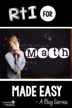 RTI for Math Made Easy