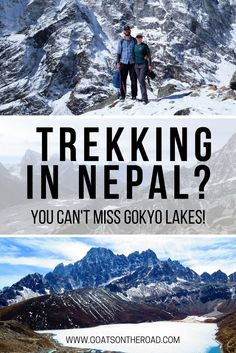 Trekking In Nepal? You Can't Miss Gokyo Lakes!   Where To Go & What To See In Nepal   World's Best Hikes   Nepals Greatest Trails   Nepal Trekking Guide   Adventure Travel   Best Hikes Nepal   Backpacking Travel Nepal   Best Of Nepal