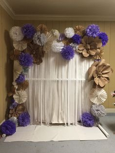 Photo booth ideas Using pvc pipe Make sure the back drop is not too busy for pics ! I had to redo this thing a 100 times ! Pinterest don't tell u that !