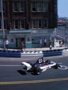 Mario Andretti - Parnelli-Ford VPJ4B 1976 US West Grand Prix, Long Beach #F1 #Formula1