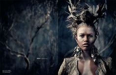 100 Terrific Tribal Fashions - From Native-Inspired Beachwear to Tribal Nymph Photography (CLUSTER)