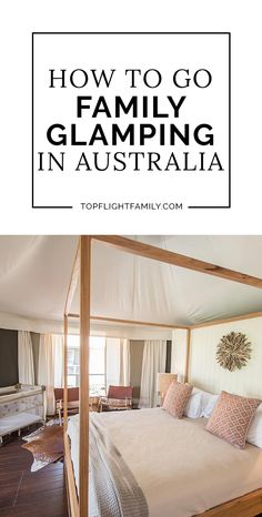 With luxury camping, you can reconnect with nature but do so in comfort and style. Here's one family's glamping Australia experience. Camping Jokes, Camping Activities, California Beach Camping, Beach Trip, Beach Travel, Camping With Kids, Go Camping, Family Glamping, Camping Blanket