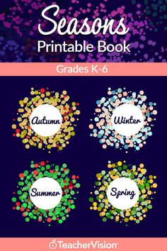 Looking for a great distance learning resource? Check out this Seasons Printable Book (K-6): Celebrate the seasons with lesson plans and activities for autumn, winter, summer, and spring. This printable book for grades K–6 includes seasonal art projects, poetry lessons, science experiments, research ideas, and more. Paragraph Writing, Persuasive Writing, Writing Rubrics, Opinion Writing, Poetry Lessons, Teacher Freebies, Student Goals, Parent Teacher Conferences, Kindergarten Science