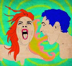 The panic the vomit by Joss Solorzano