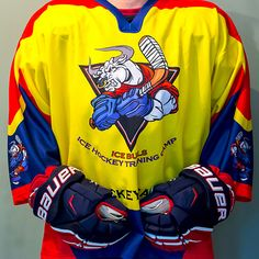 IceBulls Hockey Camp Jersey (yellow-blue) #hockeycamp #hockeyjersey #jersey #camp #internationalcamp #international #juniorhockeycamp #juniorcamp #adulthockey #adulthockeycamp #hockeyforkids #playhockey #czechschoolhockey #youthhockey #hockeyforchildren #hockeycoach #hockeyforjuniors #hockeyforadults #sport #хоккейлагерь #хоккейвчехии #хоккейныйсборы #хоккейсшайбой #хоккейныйтренер #сборы #хоккей #хоккейдлядетей #молодежныйхоккей #спорт #активныйобразжизнь