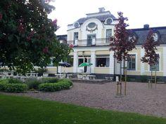 Parken på Sjöbo Gästgifvaregård