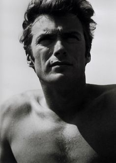 Clint Eastwood - he was soooo young!  <3 http://www.facebook.com/MormorsStuer