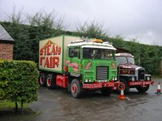 2 Scammells - Crusader and Contractor Cool Trucks, Big Trucks, Classic Trucks, Classic Cars, Old Lorries, Old Commercials, Fun Fair, Big Wheel, Commercial Vehicle