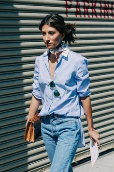 Street looks à la Fashion Week printemps-été 2016 de New York | @andwhatelse