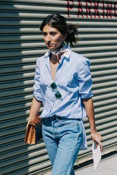 Street looks à la Fashion Week printemps-été 2016 de New York  @andwhatelse