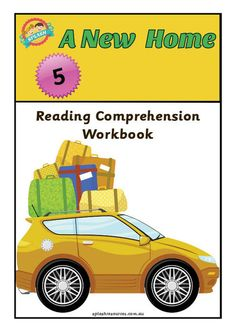 Reading Comprehension Workbook - A New Home – Splash Resources Reading Comprehension, New Homes, News, Products, Reading Response, Gadget