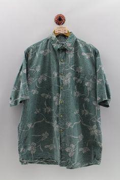 1990s Shirt 90s Perry Ellis 90s Silk Shirt Fresh Prince Shirt 90s Perry Ellis Mens Medium Abstract Fresh Prince Silk Short Sleeve Shirt