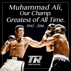 Muhammad Ali dies, aged 74: live reactions from around the globe following the death of a sporting icon